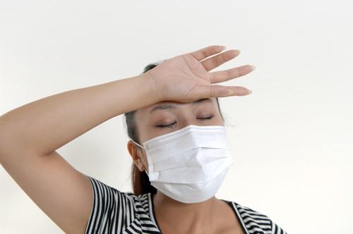 熱女性マスク